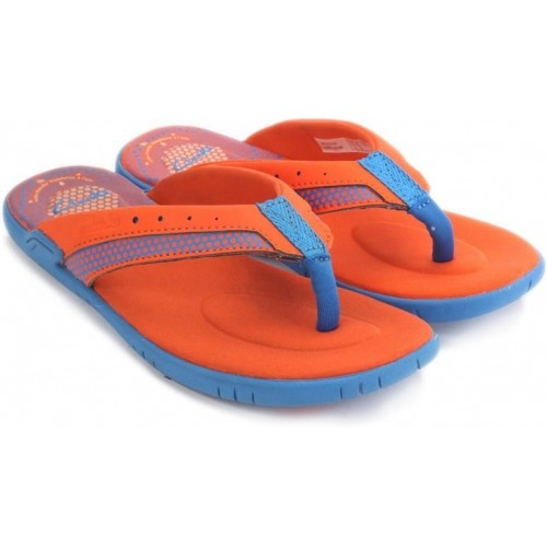 Buy Clarks Orange \u0026 Sky Blue Slip On
