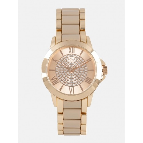 DressBerry Rose Gold Analogue Watch MFB-PN-WTH-S5740-1