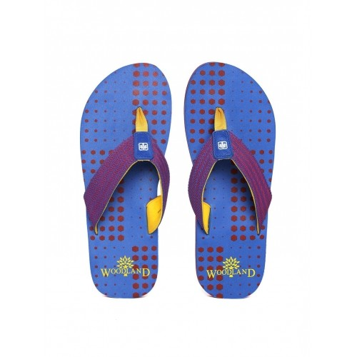 4e4151c16 Buy Woodland ProPlanet Blue   Red Synthetic Printed Flip-Flops ...