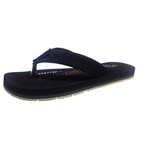 7be4553858 Buy Bata Black Phylon Slip-On Ortho Comfort Flip-Flops online ...