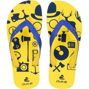 Duke Yellow Rubber Slip-On Flip Flop