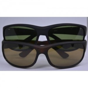Multi Color Sports Frame Unisex Sunglass-PAck Of 2