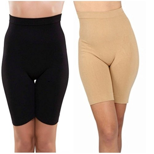 230a50426d3 ... Golden Girl Black   Begie Efffective seamless tummy tucker shapewear ...