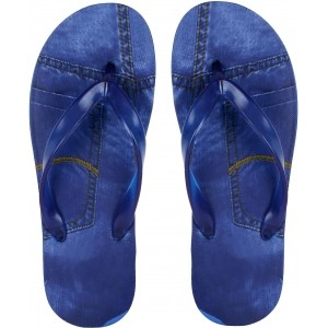 Clymb Navy Blue Flip Flops For Men