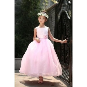 Forever Kidz Pretty Pink Elegant Party Gown