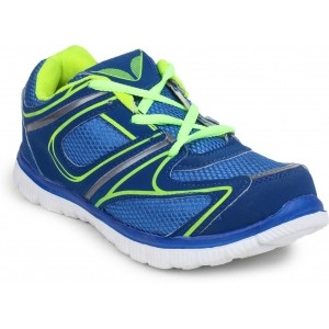 11E Blue Lace Up Running Shoes