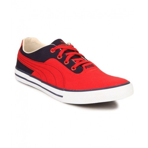 puma nestor plus dp red sneakers