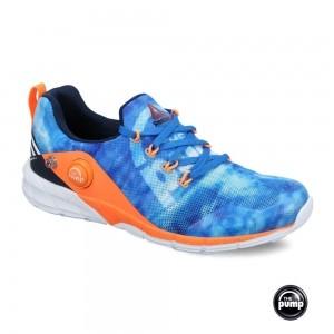 Reebok Kid's Blue Zpump Fusion 2.0 Running Shoes