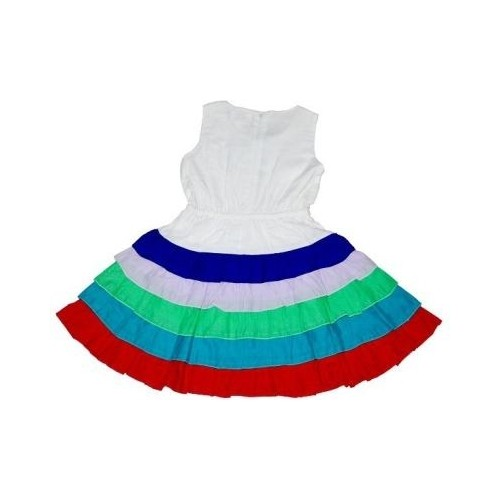 Young Birds Girl s Layered Dress
