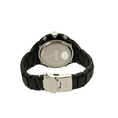 Skmei AD1016 Black Plastic Analog-Digital Sports Watch