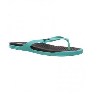 Nike Matira Black Aqua Green Flipflops