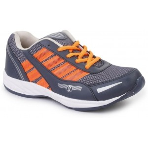 Spick Navy Blue Sports Shoes For Men