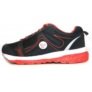 Terravulc Black & Red Running Shoes