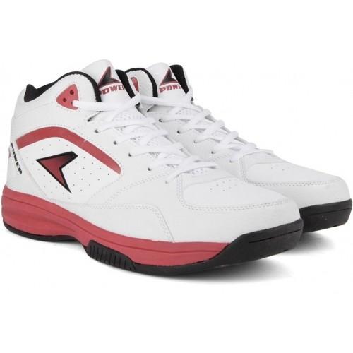 Buy Bata White Lace Up Men's Basketball