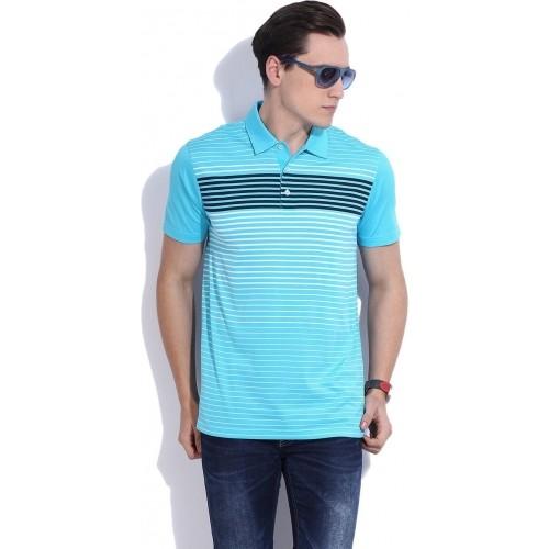 765726b7be0 Buy Puma Sky Blue Cotton Half Sleeves Polo T-Shirt online ...
