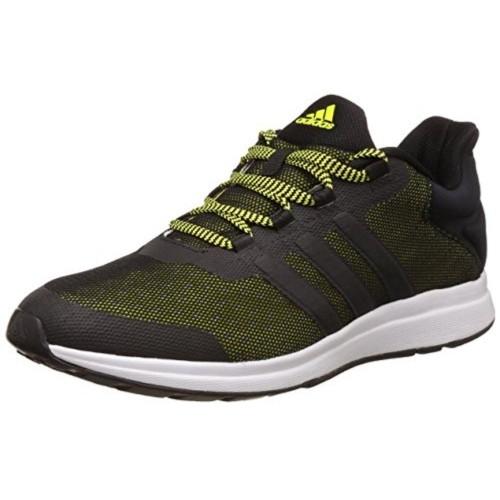 Comprare Adidas Nero & Green Merletto Uomini Scarpe Online