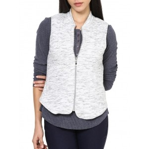 RUTE Grey Fleece Sleeveless Sweatshirt