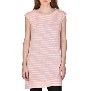 RUTE Pink Striped Cotton Tunic