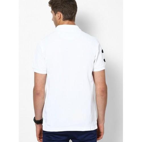 U.S. Polo Assn. White Polo T-Shirt