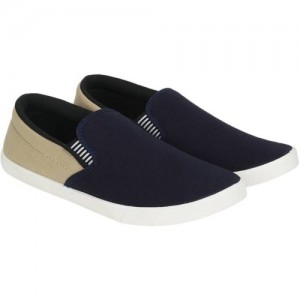 WELDONE Blue Loafers For Men