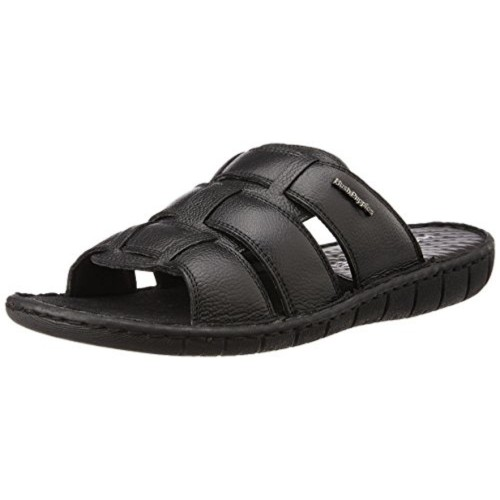 bd73b5332580 ... Hush Puppies Men s Sedan Mule Leather Flip Flops Thong Sandals ...