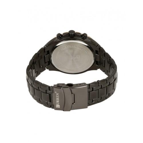 Curren 8023 Black Analog Watch  - For Men