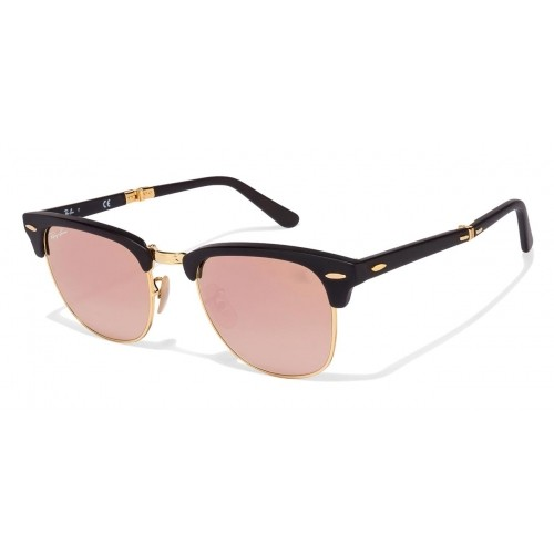 014cdfe651 Buy Ray-Ban RB2176 Size 51 Golden Matte Black Pink Mirror 901-S 70 ...