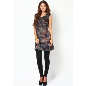 18 Fire Multi Colored Printed Kurtis