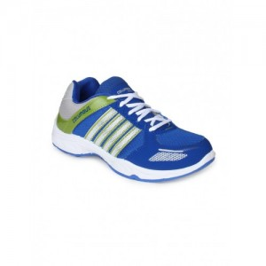 Columbus blue Mesh lace up sport shoe