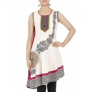 18 Fire Printed Casual Girls Kurti
