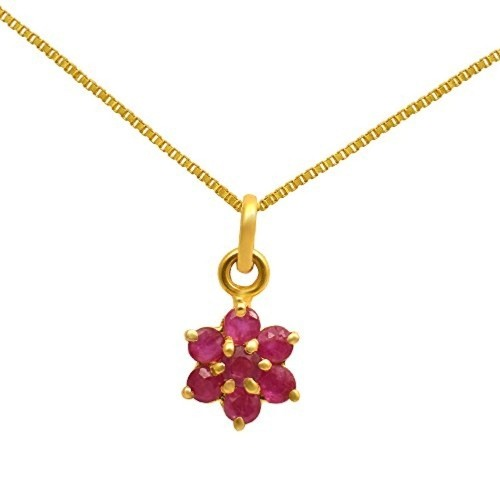 Buy joyalukkas savariya yellow gold ruby pendant online looksgud joyalukkas savariya yellow gold ruby pendant aloadofball Image collections