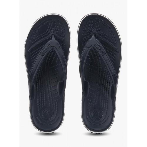 08125fca2b4208 Buy Crocs Black Rubber Crocband Lopro Flip Flops online