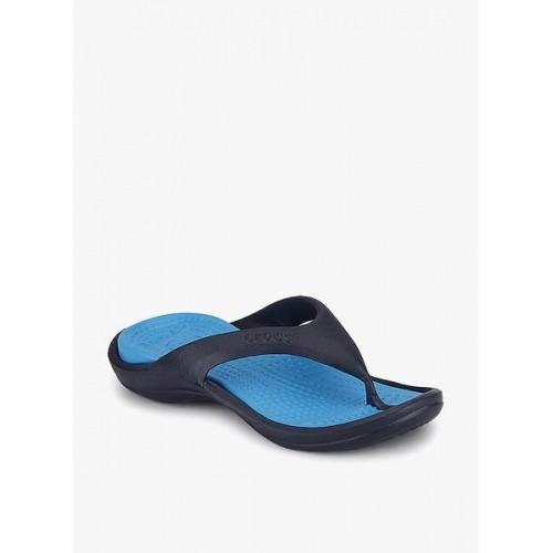 a3fe4caa9371c2 Buy Crocs Sky   Navy Blue Rubber Athens II Flip Flops online ...