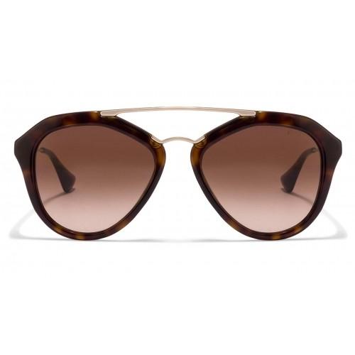 8b496b75608a4 ... cheapest prada spr12q brown gradient 2au 6s1 aviator sunglasses de6f5  1acdf ...