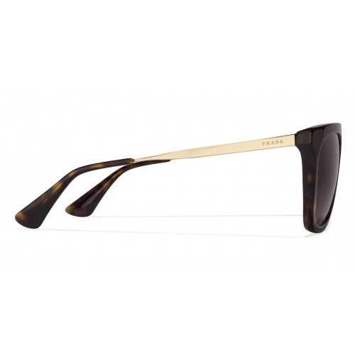Buy Prada PR13QS Golden Tortoise Brown 2AU-6S1 Wayfarer Sunglasses ... a164e32c7d07
