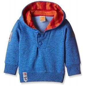 Little Kangaroos Blue Cotton Full Sleeve T-Shirt