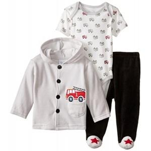 Rene Rofe Newborn Velour Hooded Jacket & Pant Set