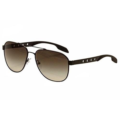 Prada Black Aviator Sunglasses