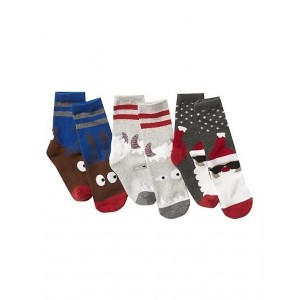 GAP Multicoloured Printed Polyester Cotton Boys Socks