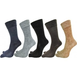 Rc. Royal Class Multicolor Wool Solid Crew Length Socks