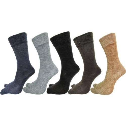 Rc. Royal Class Multicolor Wool Solid Crew Length Socks