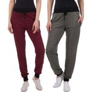 Gag Wear Solid Multicolor CottonTrack Pants