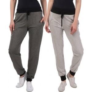 Gag Wear Cotton Solid Multicolor Track Pants
