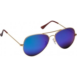 M|S SG-019 Blue Full Frame & Aviator Sunglasses