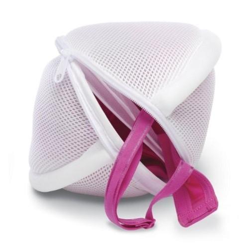 Whitmor White Polyster Lingerie Laundry Bag