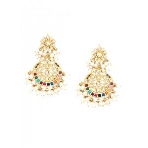 Buy Le Perla Multicolor Opal Earrings Online Looksgud In