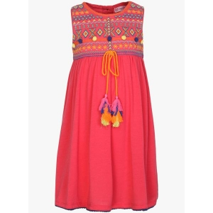 Nauti Nati Fuchsia Cambric Casual Dress