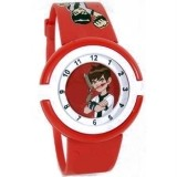 Stylish Executive Red Wrist Watch