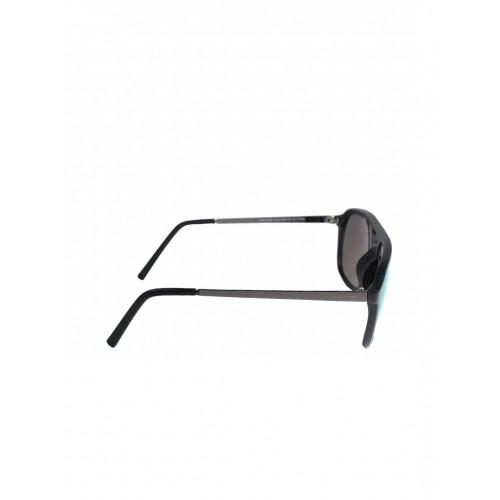 ARCADIO Unisex Oval Sunglasses AAR211BK-GR