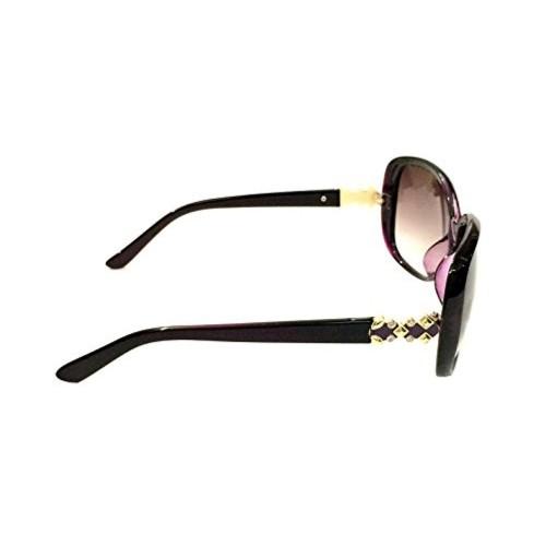 cheap designer frames c6po  Designer Frames Brown Bug Eye Shaped Summer Wear Sunglasses